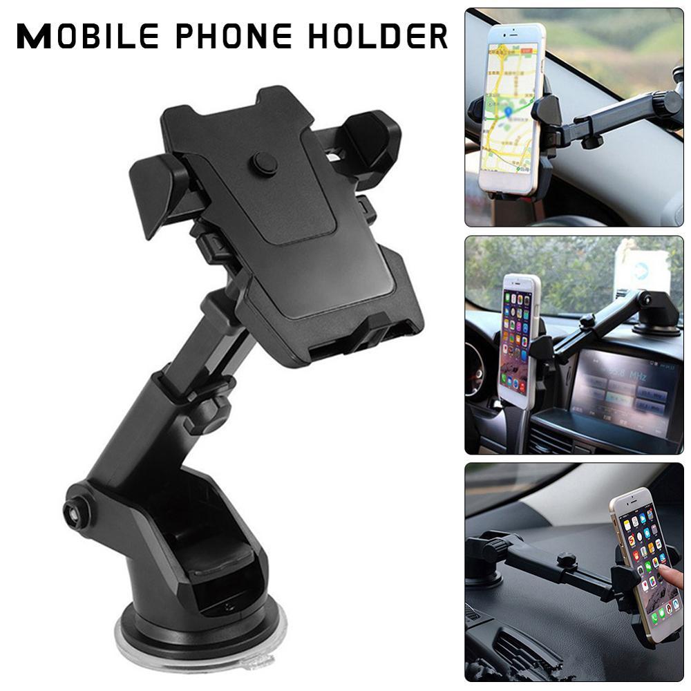 Venta al por mayor, soporte de montaje Universal para teléfono inteligente de 360 grados, soporte de ventosa ajustable para teléfono móvil