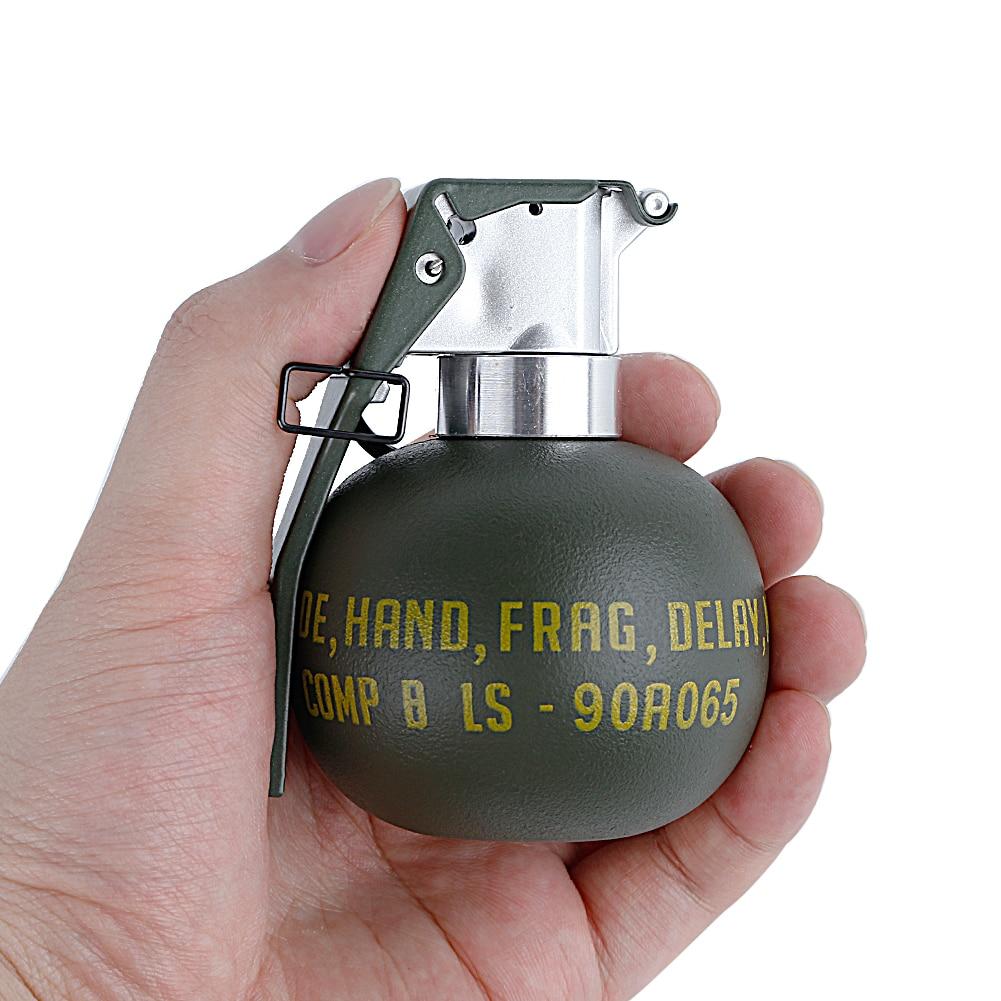Tactical M-67 Grenade Dummy Model Plastic M67 Frag Gren Molle Storage Pouch