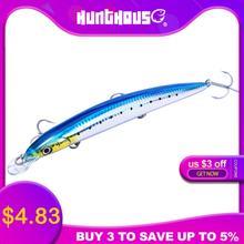 Рыболовная приманка hunthouse тонкая в виде гольяна длинное