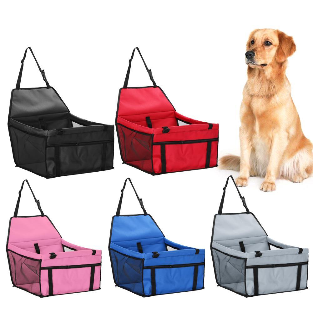 Pet cão portador assento de carro almofada segura transportar casa gato filhote de cachorro saco de viagem do carro acessórios à prova dwaterproof água saco de assento do cão cesta produtos para animais de estimação