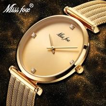 2018 yılında en çok satan ürün paslanmaz çelik bilezik altın elmas hediyeler kadınlar için Minimalist tasarımcı marka lüks kadın saatler
