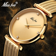 Top Selling Product In 2018 Stainless Steel Bracelet Gold Diamond Gifts For Women Minimalist Designer Brand Luxury Women Watches