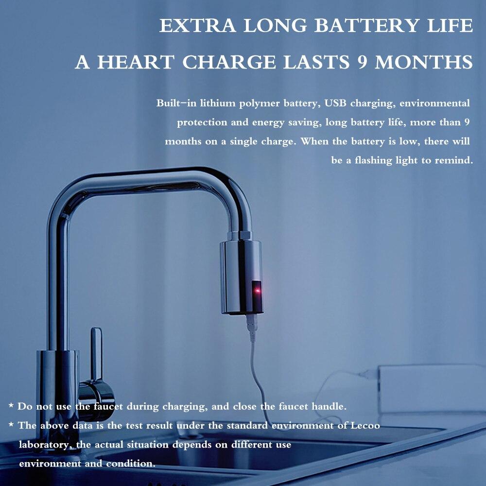 H546e9e5eb1f24fe79638fed695e9419dY Smart Sensor Kitchen Faucets Water-Saving Sensor Non-Contact Faucet Infrared Sensor Adapter For Kitchen Bathroom sensor Faucet