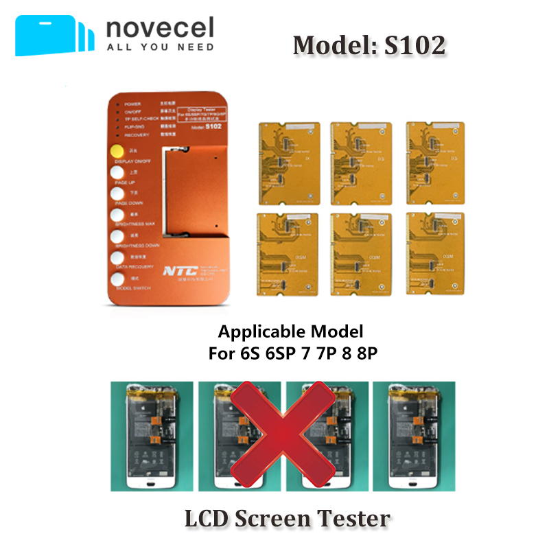 6 in 1 For iphone 6S 6S plus 7 7plus 8 8plus Touch Screen Tester Box with Test Board LCD Tester Box Tools|Phone Repair Tool Sets| |  - title=