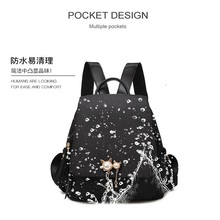 New fashion backpack travel women casual daypacks multi pocket travel backpacks female school bag for teenage girls