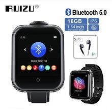 Ruizu mp3 плеер bluetooth m8 съемный 16 дюймов полный сенсорный