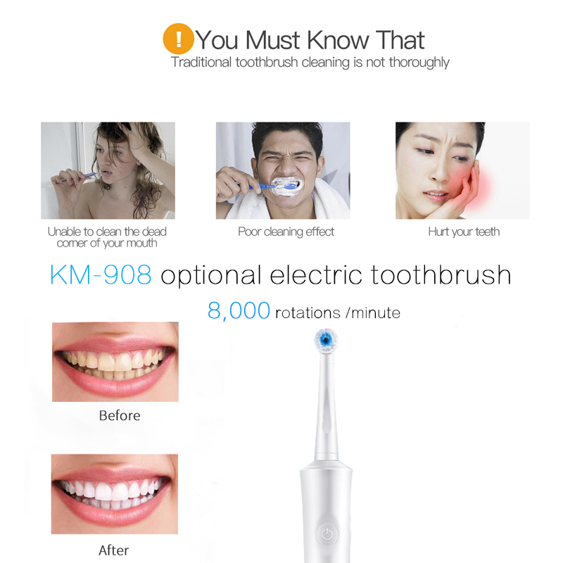 Electric toothbrush sonic electric toothbrush oral care tooth cleaning oral hygiene adult children rechargeable toothbrush 5