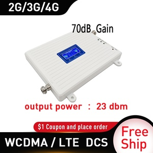 Image 2 - Dual band 1800/2100mhz Mobile Amplifier tri band repeater GSM 4G repeater DCS WCDMA 3G 4G repeater LTE cellular Signal Booster
