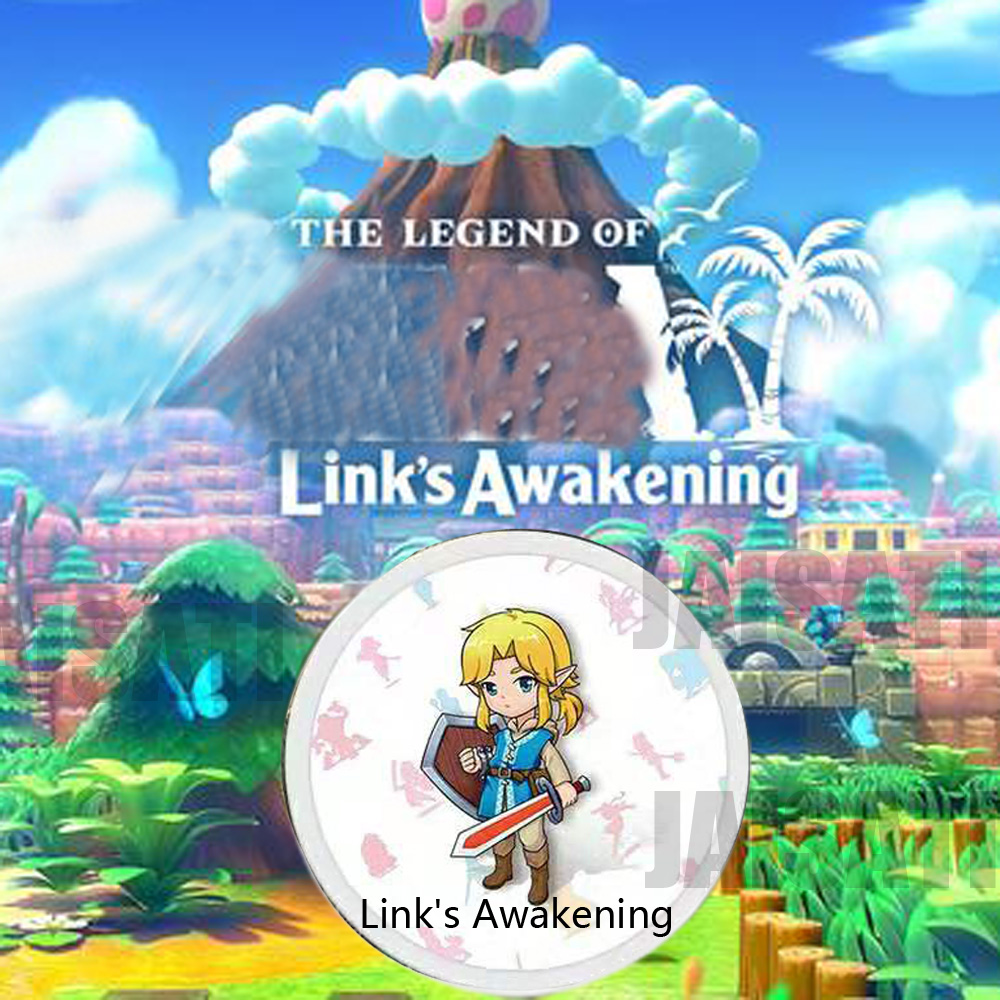 Image 5 - zelda Breath for the Wild zelda amiibo card Link Awakening Young Link NFC card ntag215 Diablo Splatoon 2 Super Odyssey-in IC/ID Card from Security & Protection