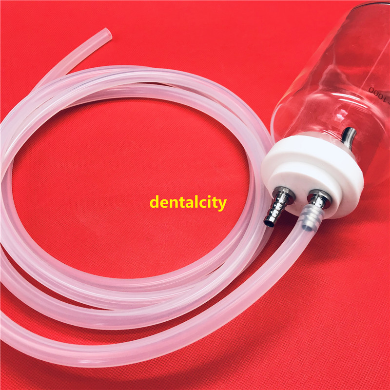 Beauty Equipment 1000ml Liposuction Fat Collection Autoclavable Canister+Silicagel Hose Tube Liposuction Tools