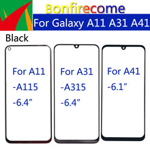10 Stuks \ Veel Voor Samsung Galaxy A11 A115F A115M A31 A315F A315G/L A315N A41 Front Touch Panel lcd Display Out Glass Cover Lens