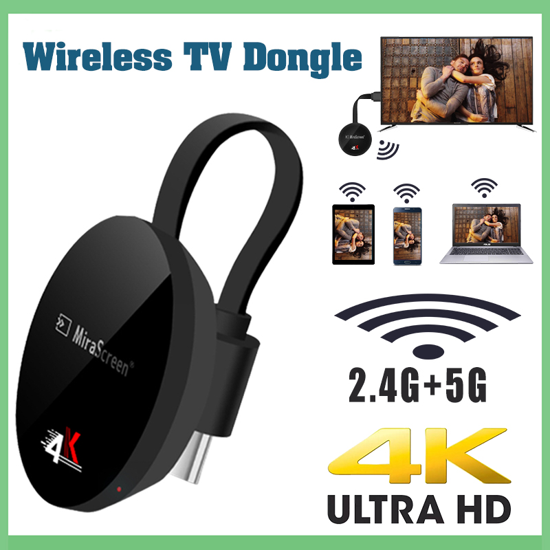Dongle Anycast Tv-Stick Wifi Dvb T2 Airplay Firenetflix Android Hdmi Mini 5G Wireless