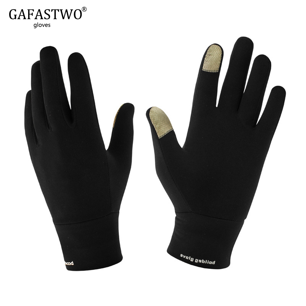 Winter New Bicycle Riding Warm Mens Gloves Women Fashion Outdoor Sports Windproof Wear Lycra Touch Screen Ladies Gloves