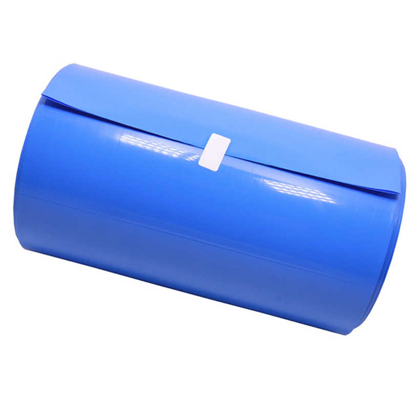 Heat Shrink Tube Tubing Wrap Sleeve Blue 160mm x 1 metre 18650 Battery UK Stock