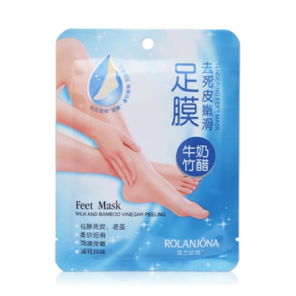 1 Pair Baby Foot Peeling Mask Exfoliating Renew Remove Dead Skin Cuticles Heel Feet Care Smooth Your Feet