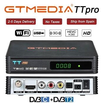 TT Pro HD Empfänger Dvb T2 TV Tuner DVB T2 DVB-C Dvb-t2 Tuner Digital TV Receiver Wifi DVB Youtube ltaly deutschland Set Top Box