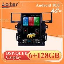 128G dla Land Rover Range Rover Sport z systemem Android Multimedia radiowe jednostka nawigacji GPS Tesla Audio samochodowy odtwarzacz stereofoniczny Radio samochodowe