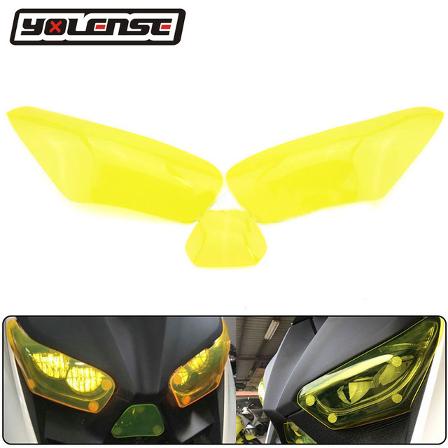 For Yamaha XMAX300 XMAX250 XMAX 300 250 X-MAX 2017 2018 Motorcycle Acrylic Headlight Guard Head Light Lens Cover Protector