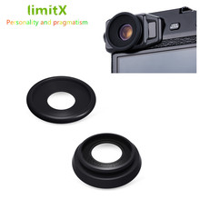 Наглазник видоискатель для камеры, 2 шт. в упаковке, окуляр для Fujifilm X-Pro2 X-Pro, 2 чашки для глаз, мягкий силиконовый резиновый окуляр