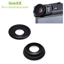2 pack kit Macchina Fotografica Oculare Mirino Oculare per Fujifilm X Pro2 X Pro 2 Cup Eye Molle Del Silicone Oculare di Gomma