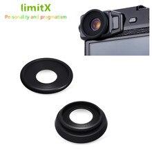 Juego de 2 piezas de copa ocular para cámara, visor para Fujifilm X Pro2 x pro 2 Eye Cup, ocular de silicona suave de goma