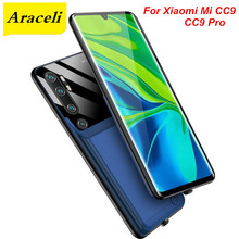 Araceli 6000 Mah For Xiaomi Mi CC9 CC9 Pro Battery Case Smart Phone Battery Cover Power Bank For Xiaomi CC9 Pro Charger Case(China)