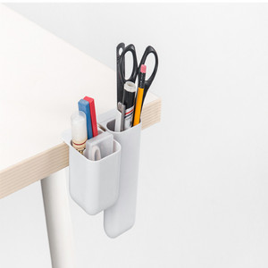 Image 5 - SIXONE 간단한 스타일 붙여 넣기 유형 데스크탑 디스플레이 포켓 Penholder 독창성 사무실 펜 잡다한 상자 컴퓨터 펜 컨테이너