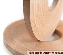 200meters/roller Width:20mm Thickness:0.5mm Natural Cherry Wood Skin Edge Banding