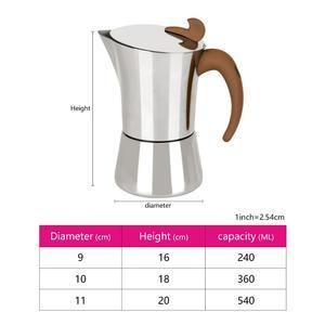 Image 5 - Fissman fogão de aço inoxidável, fabricante de café expresso, latte, mocha, ferramenta para casa, escritório, fechamento de café, gás e indução