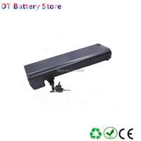 Free shipping City Rear rack Electric bike battery li ion 36v 8.8ah 10ah 11.6ah 14ah for 250w 350w 500w motor E bike battery