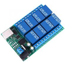 8 Channel DC 12V Relay Module Multi-Function USB Controller UART Port Relay PLC Motor Remote Control Module latching relay