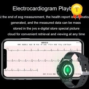"Image 3 - אק""ג PPG חכם שעון גברים ספורט מדויק קצב לב Bluetooth Smartwatch עמיד למים IP68 מדויק דם לחץ חמצן smartband"