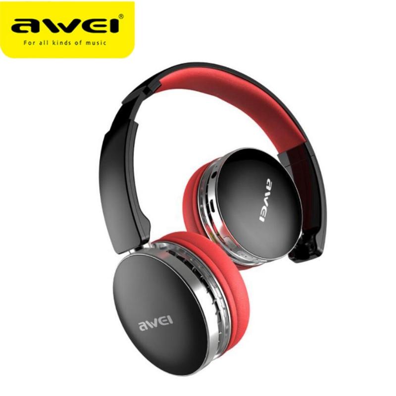 AWEI A500BL FoldableHi-Fi Stereo Bluetooth headphones Wireless Earphone Sports noise canceling Headset With microphone headphone