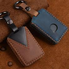 Genuine Leather Key Fob Keyless Key Cover Case For Volvo XC90 XC60 XC40 S60 S90 S80  S90 V90 C30 V70 V90 XC70