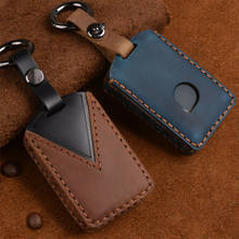 Genuine Leather Key Fob Keyless Key Cover Case For Volvo XC90 XC60 XC40 S60 S90 S80 S90 V90 C30 V70 V90 XC70