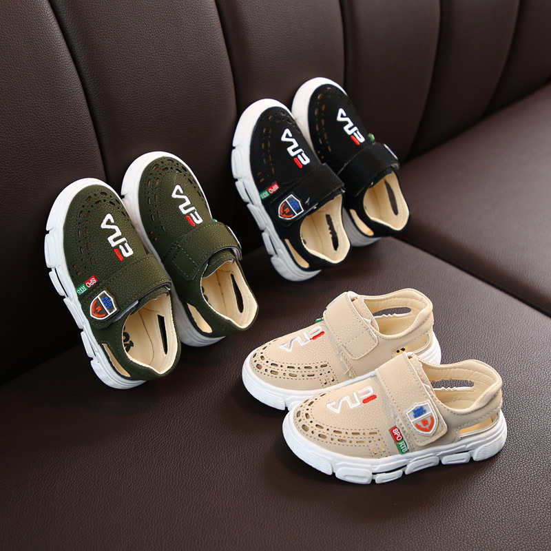 Koovan Children's Sandals 2020 Spring And Summer New Children's Half Sandals Boys Hole Shoes Girls Hollow Single Shoes Wholesale