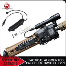 אלמנט Airsoft טקטי Augmented לחץ מתג כפול מתג עבור PEQ-15 PEQ-16A בלתי peq airsoft 14DBAL 2 NE04040(China)