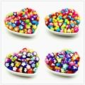 50 шт красивые разноцветные акриловые бусины для самостоятельного изготовления ювелирных изделий, звезд, цветов, бабочек, форм сердца