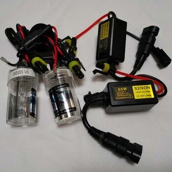 110W Xenon Car Headlight Kit H1 H3 H4 H7 H8 H9 H11 H13 5202 H16 9004 9005 9006 9007 880 881 H27 Socket HID Headlamp 3000K-12000K