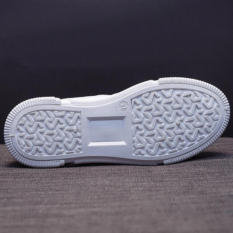 SWQZVT Summer Autumn Sneakers Women Breathable Flat Lace-up Women Vulcanize Shoes White Walking Leather Female Casual Shoes 2020 (24)