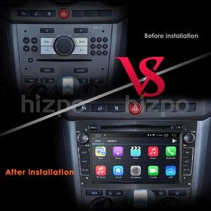 Image 3 - Hizpo Quad Core 2 DIN pamięci RAM:2GB Android 10.0 samochodowy odtwarzacz DVD odtwarzacz dla Opel Astra H Vectra Corsa Zafira B C G samochód GPS Radio stereo 4GWIFI
