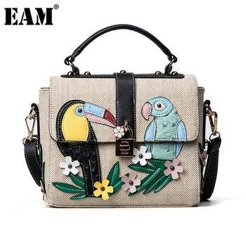 Exquisite kleine Damen Handtasche Canvas