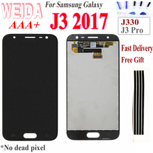 Original 5.0 For SAMSUNG Galaxy J3 2017 J330 PRO LCD Display Touch Screen Digitizer Assembly Replacment for