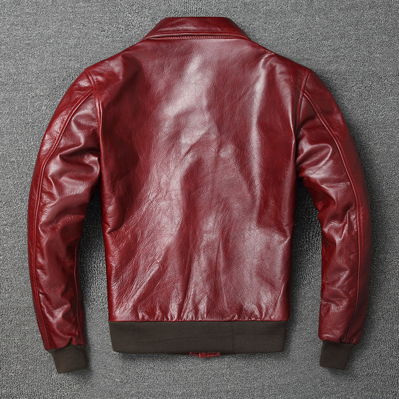 H5473cfcce7e8430096558ccbbf296112A Free shipping.Warm Mens classic genuine leather Jacket,quality men's vintage flight jackets.Eur Plus size Casual A2 coat.sales