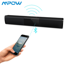 Universal Wireless Soundbar Bluetooth Stereo Speaker TV Home Theater 3D Bass Stereo Soundbar Subwoofer With FM Radio BS 28A