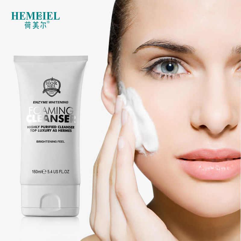 هيمييل انزيم تبييض منظف رغوي غسل الوجه الكورية ترطيب التطهير العميق مغذي العناية بالبشرة تقليص المسام