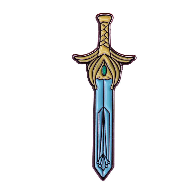 Beautiful Sword Brooch Inspired By She-Ra And The Princesses Of Power
