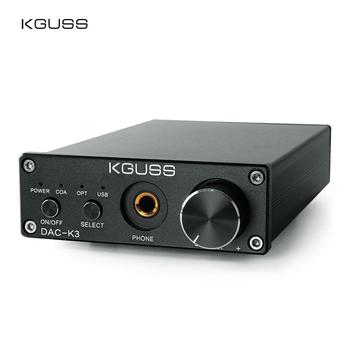 KGUSS DAC-K3 CS4398 TPA6120 DAC Amplifier Stereo 2.0 Channel Audio Amp 300Ω 24b/192kHz OPA2134 AMP DC12V US/EU kguss dac k3 cs4398 tpa6120 dac amplifier stereo 2 0 channel audio amp 300ω 24b 192khz opa2134 amp dc12v us eu
