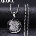 Archangel Gabriel StainlessSteel Archangel Michael Small Necklaces Holy Family Necklace Sacred Heart of Jesus Jewelry NXS02
