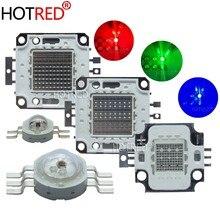 Ampoules à puce RGB/RGBW, lampe à LED, haute puissance, 3W, 10W, 20W, 30W, 50W, 100 W, rouge, vert, bleu, blanc, Diode, 3 10, 20, 30, 50, 100 W, COB